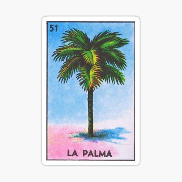 La Palma Loteria - Tarot Sticker