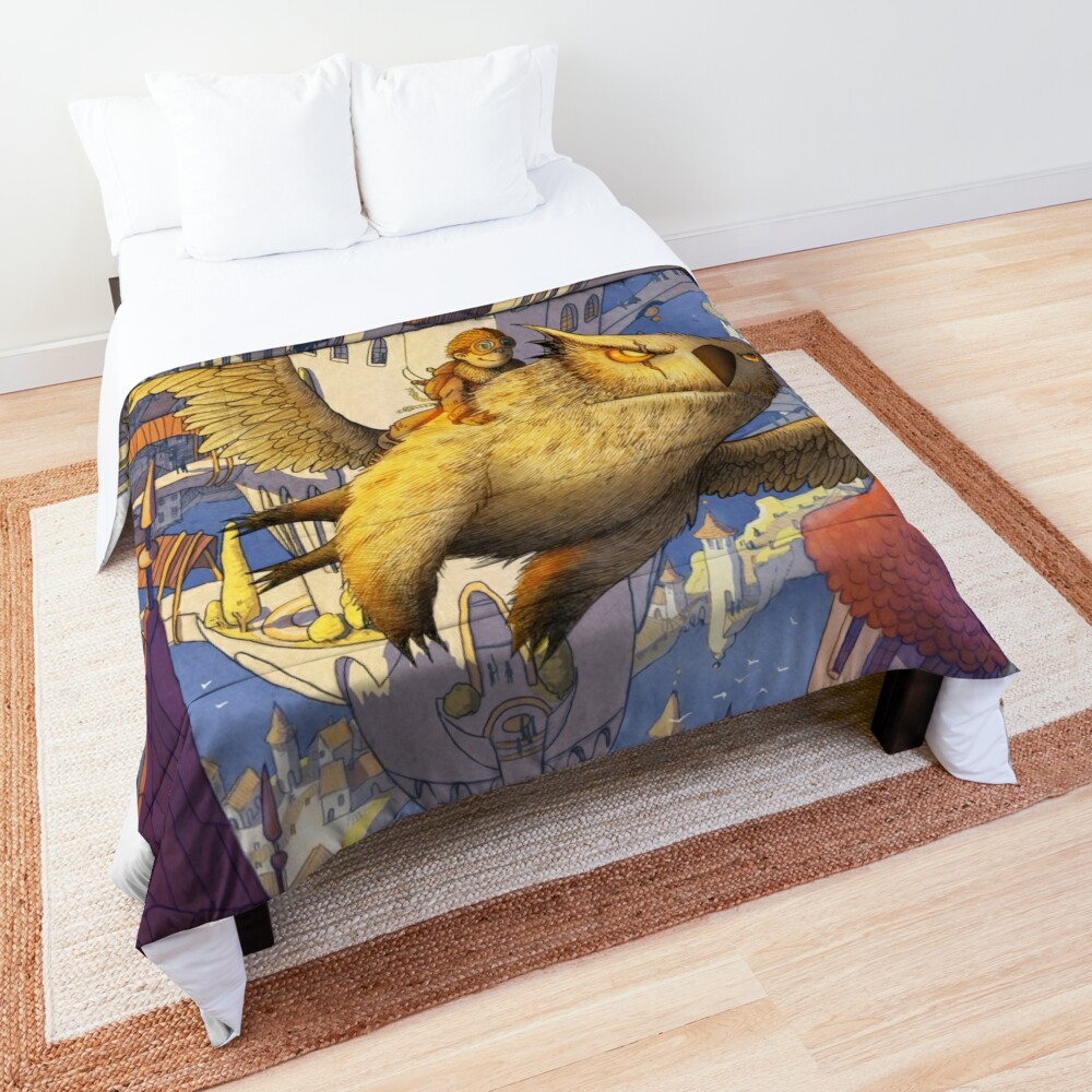 The spiral city Comforter