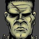 Frankenstein's Monster by psychoandy