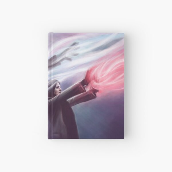 The Savior and the Evil Queen Hardcover Journal