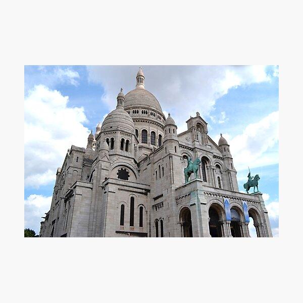 Basilica of Sacre Coeur  Photographic Print