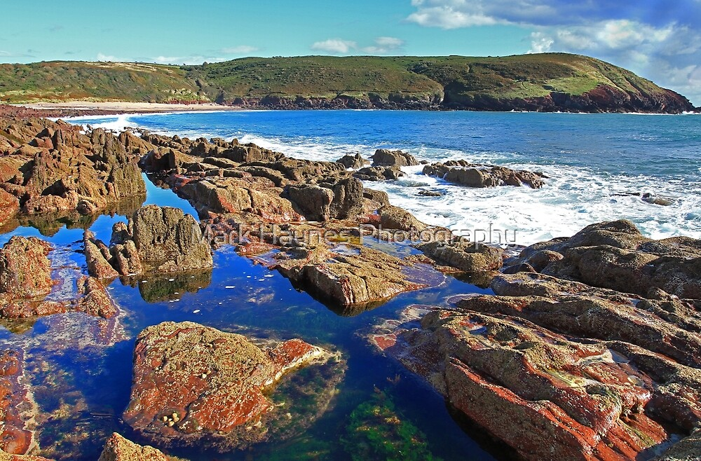 From The Rockpools - Manorbier,Tenby,Pembrokeshire by Mark Haynes Photography