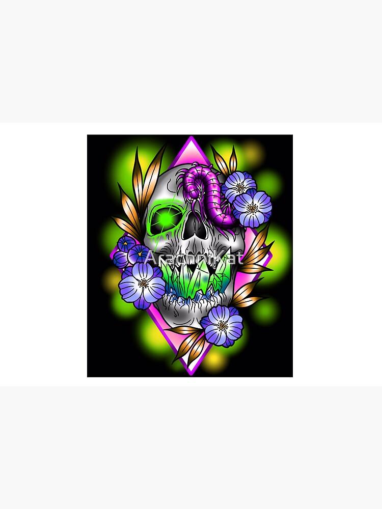 Crystal skull  by ArachniKat