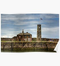 Whitehaven Old Quay Poster