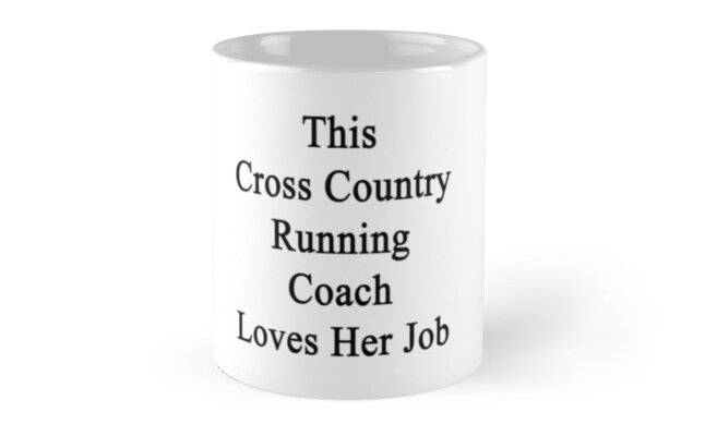 This Cross Country Running Coach Loves Her Job  by supernova23