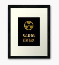 Duke Nukem - Hail To The King Baby! Framed Print