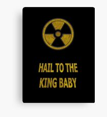 Duke Nukem - Hail To The King Baby! Canvas Print