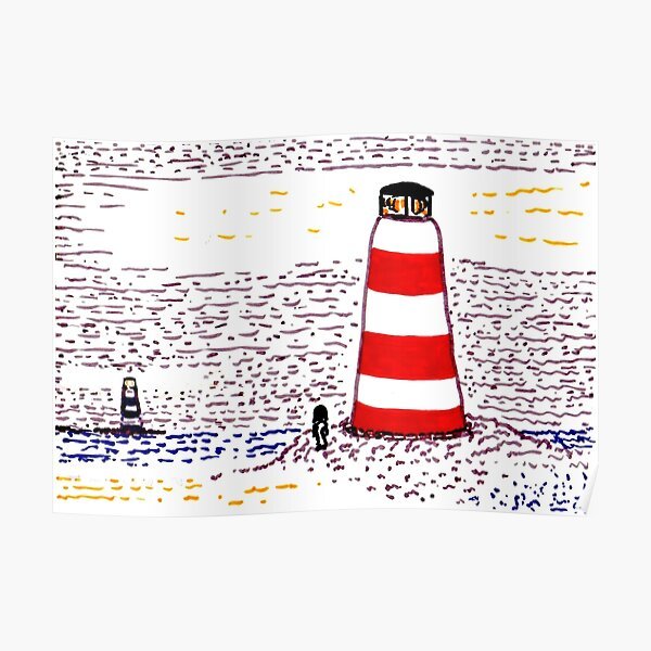 Lighthouses Poster