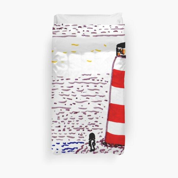 Lighthouses Duvet Cover