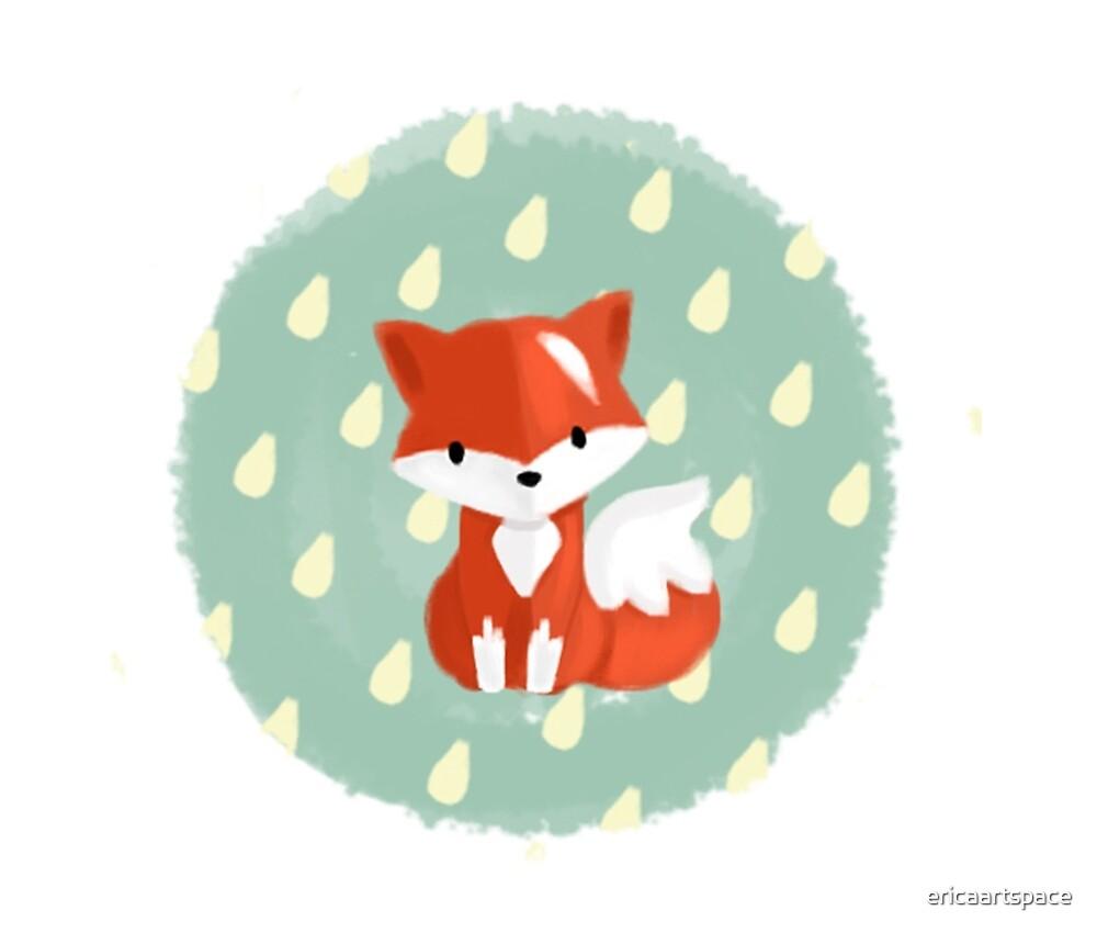 I'm a cute fox by ericaartspace