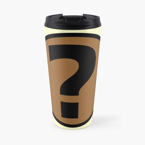 PodQuiz Yellow Travel Mug