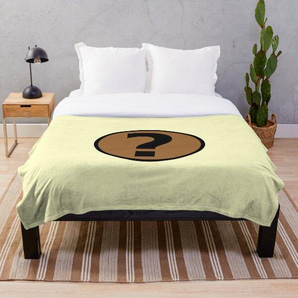 PodQuiz Yellow Throw Blanket