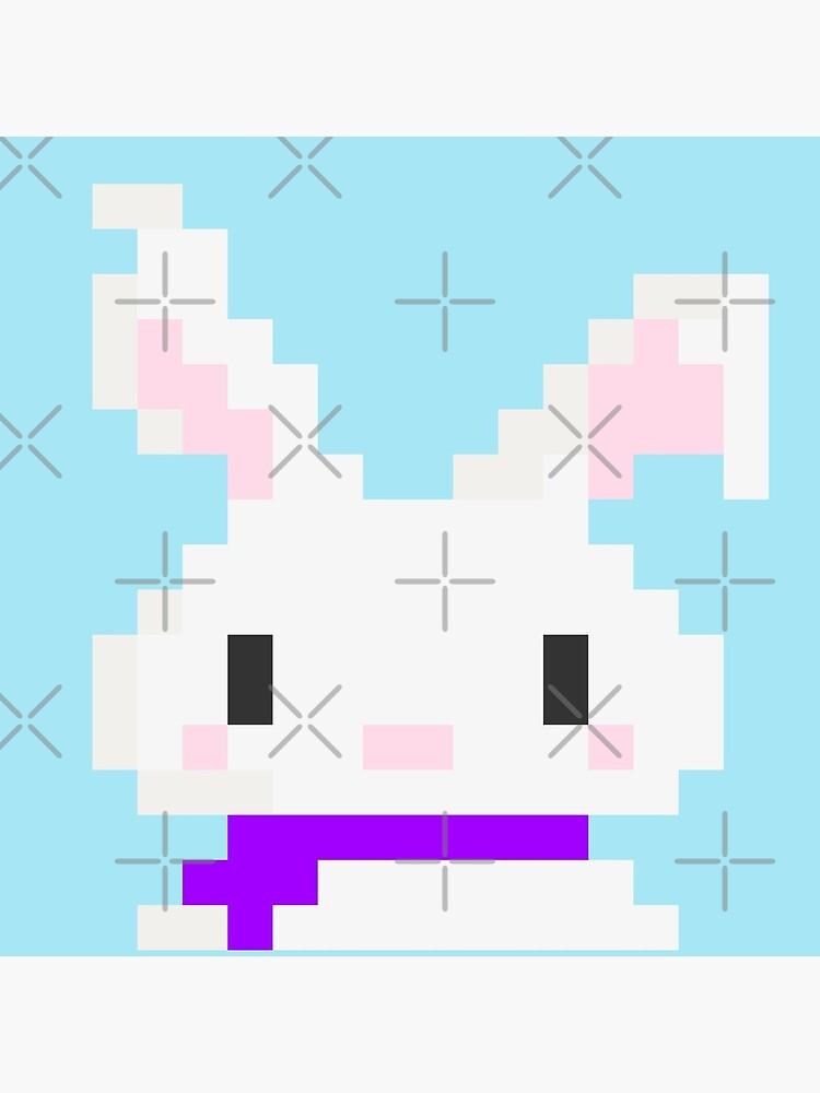 Conejo pixel de RolmiArt
