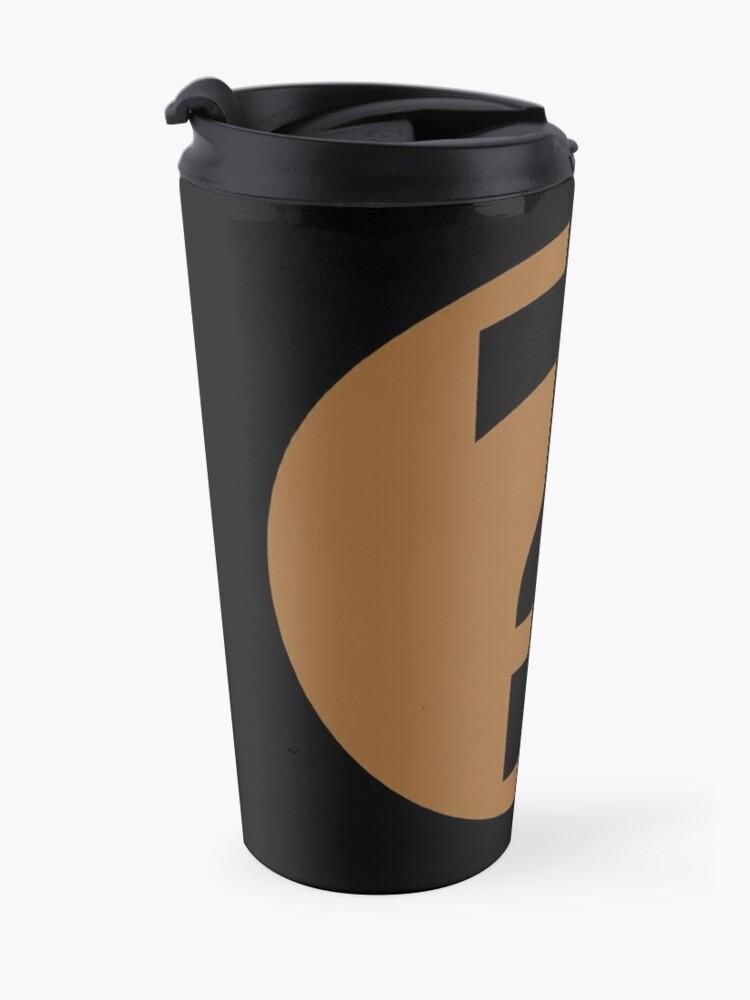 Alternate view of PodQuiz Black Travel Mug