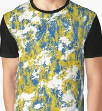 Blue and gold rust Graphic T-Shirt