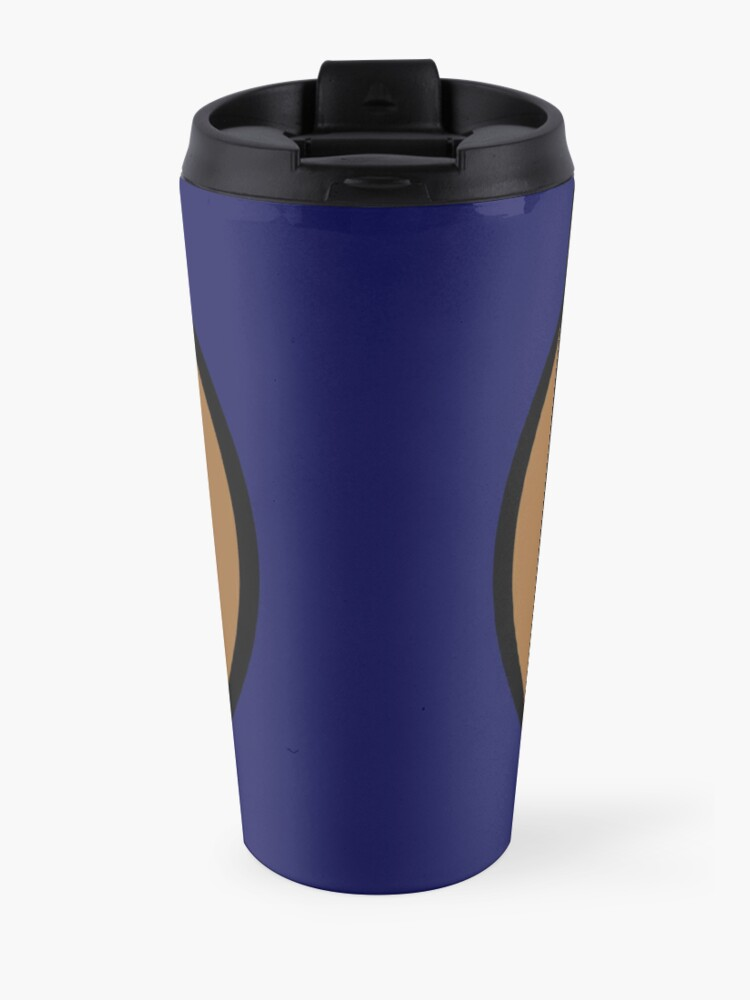 Alternate view of PodQuiz Blue Travel Mug