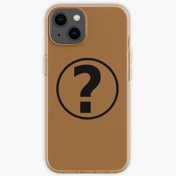PodQuiz Brown iPhone Soft Case