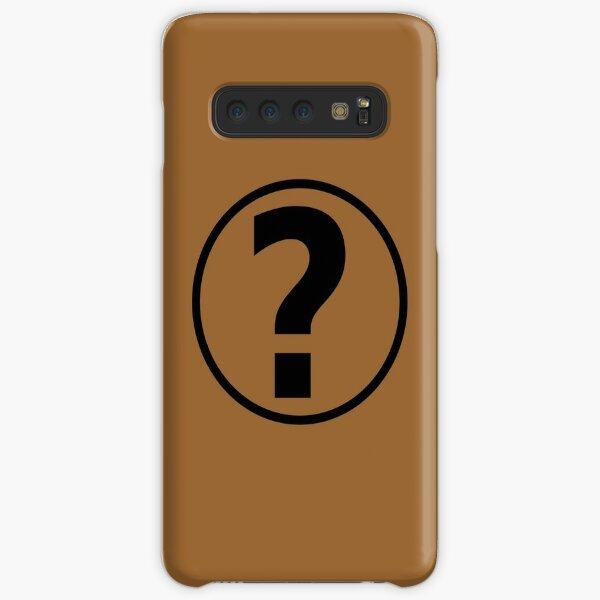 PodQuiz Brown Samsung Galaxy Snap Case