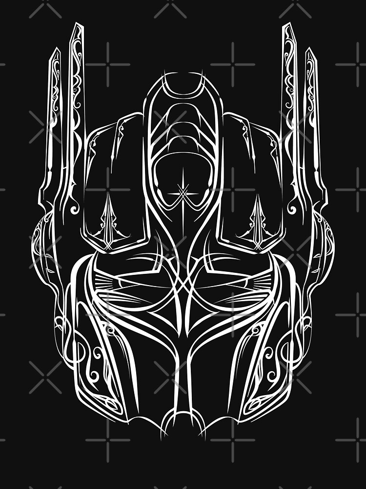 Pinstripe Prime (white version) by 6amCrisis