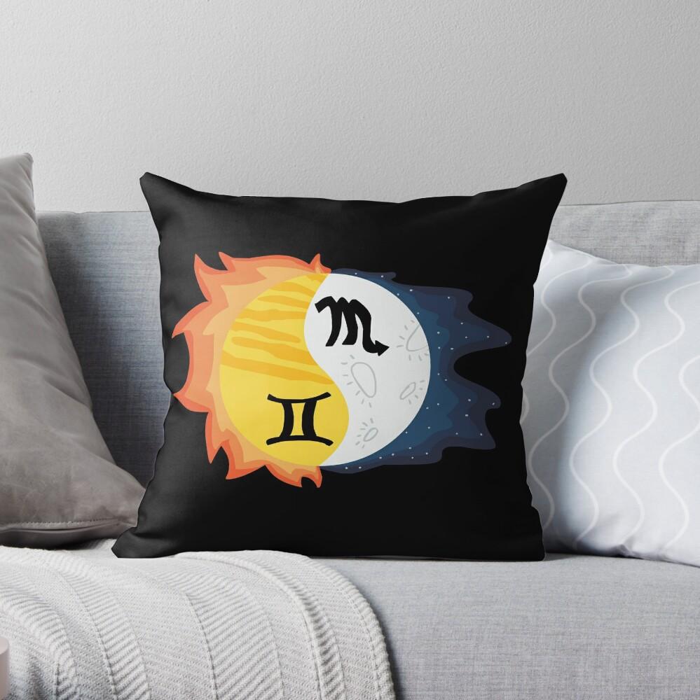 Gemini Sonne, Skorpion Mond Dekokissen