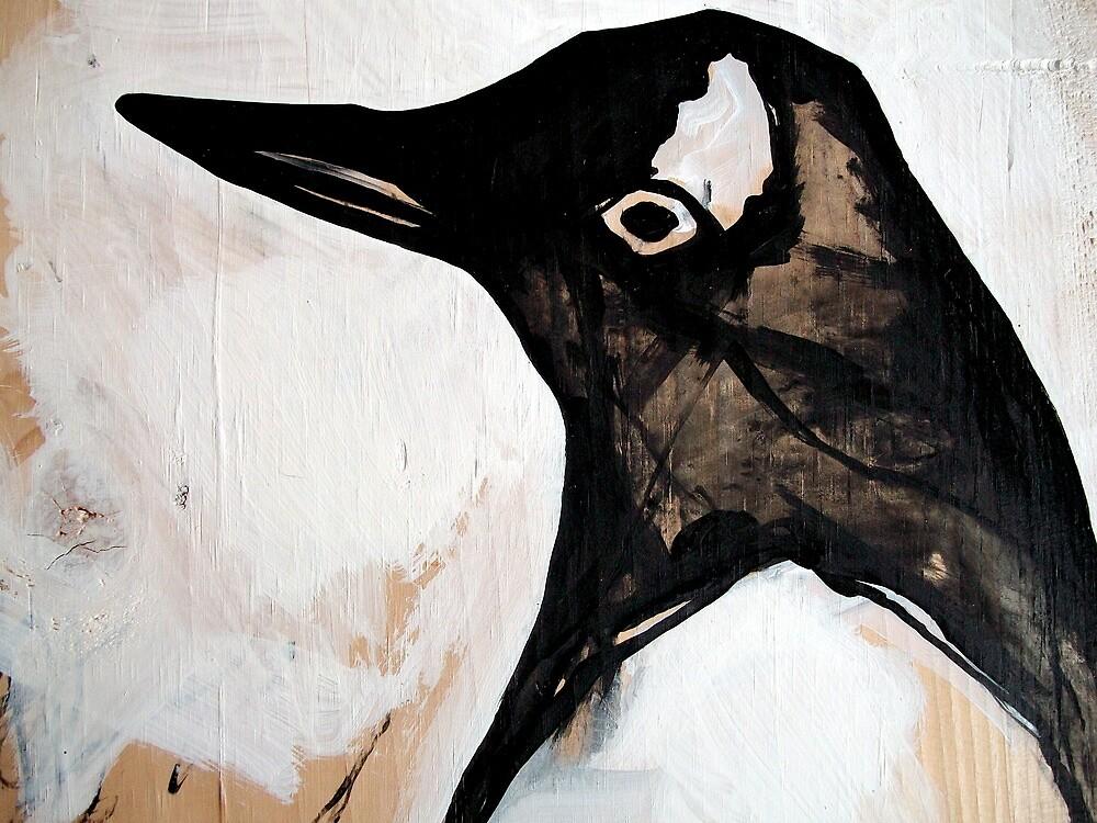 standard bright penguin  by starheadboy