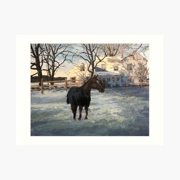 Sawyer Horse 2 Art Print