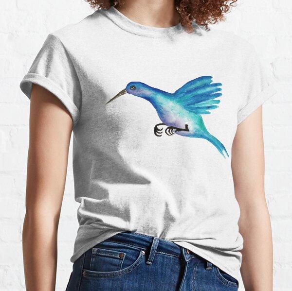 Blue Hummingbird Classic T-Shirt
