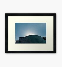 Metro Hall Framed Print