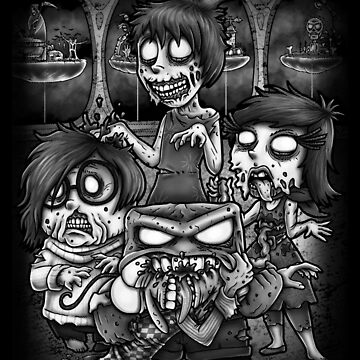 Inside Zombie by andresMvalle