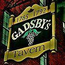 Gadsby's Tavern, Alexandria, Virginia by Barbara  Brown