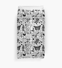 1D Tattoos 2015 Duvet Cover