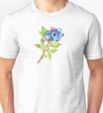Wild Maine Blueberry Sprig Unisex T-Shirt