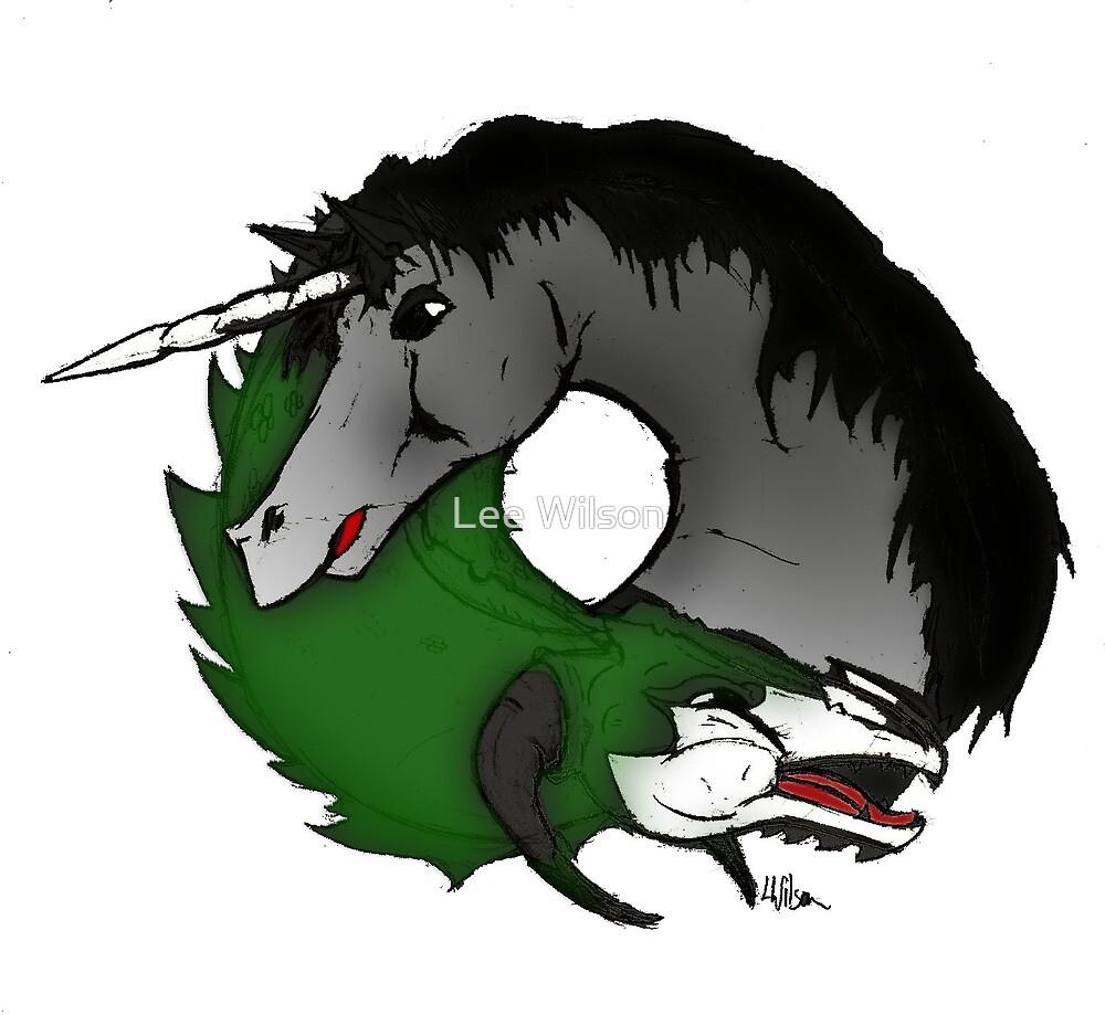 Dragon Unicorn by Lee Wilson