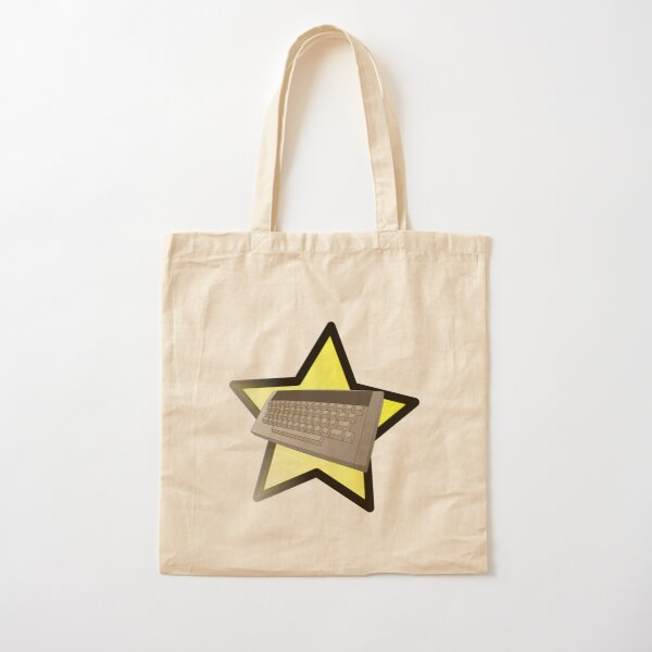 Starring the Computer Cotton Tote Bag