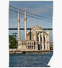 Ortakoy Mosque On The Bosphorus Poster