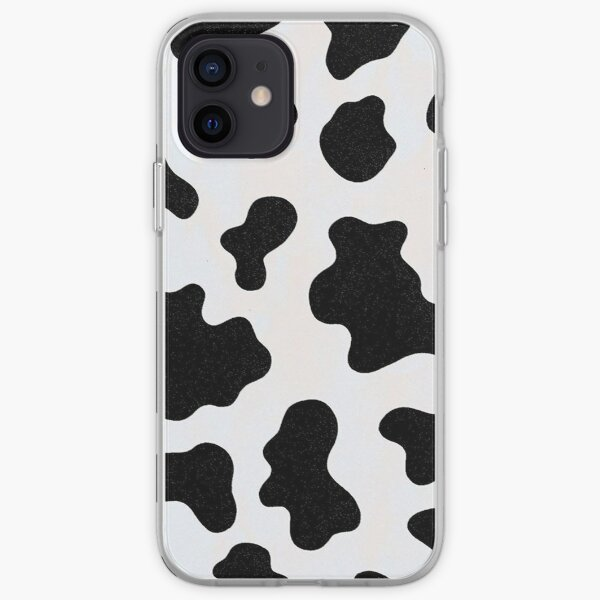 cow print iPhone Soft Case