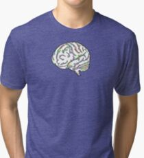 Zany Brainy Tri-blend T-Shirt
