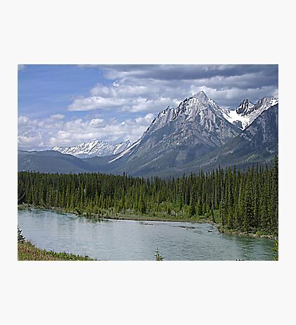 Welcome to Banff Photographic Print