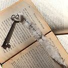 A bookworm's love note by Olivia Plasencia