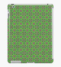 Green fabric iPad Case/Skin