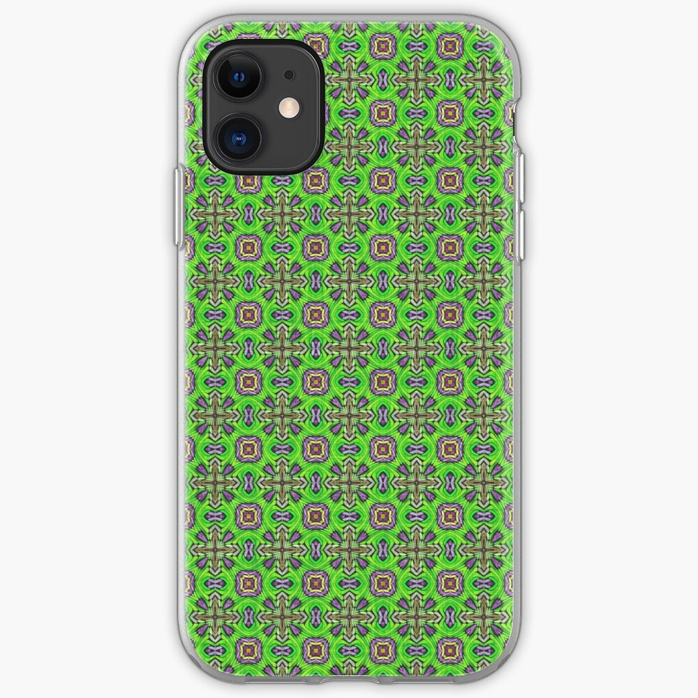Green fabric iPhone Case & Cover