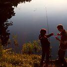 Gone Fishing by Lynne Morris