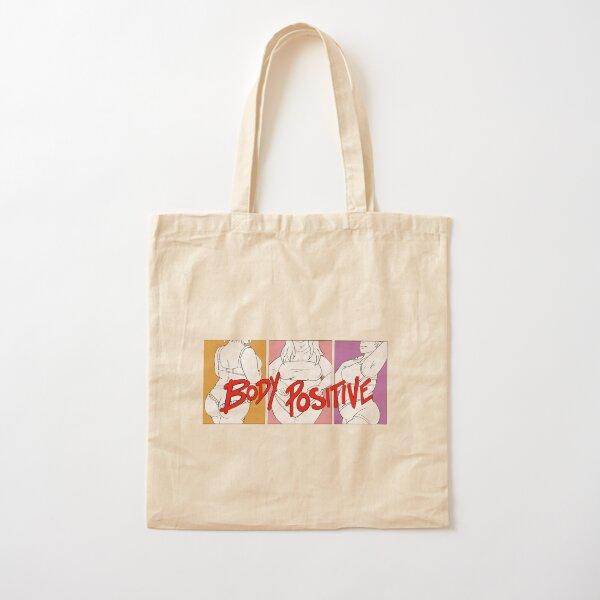 Body Positive + Cotton Tote Bag