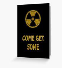 Duke Nukem - Come Get Some Greeting Card