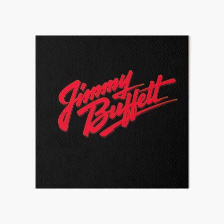 "jimmy buffett 01 logos singer man legend ""Margaritaville"" Art Board Print"