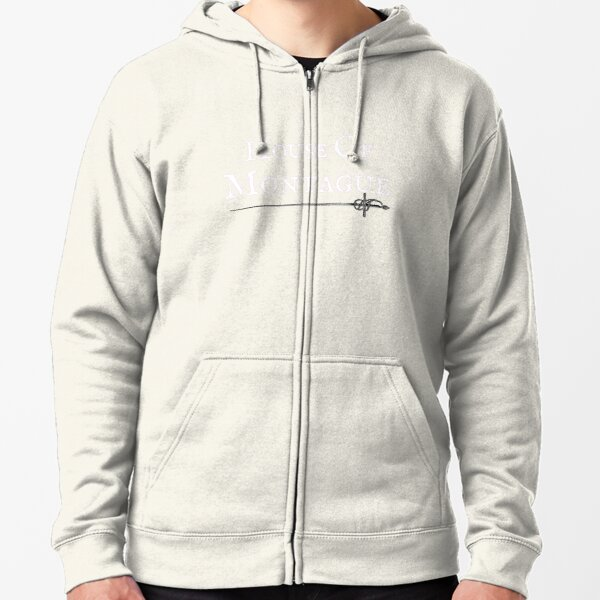House of Montague (Light) Zipped Hoodie