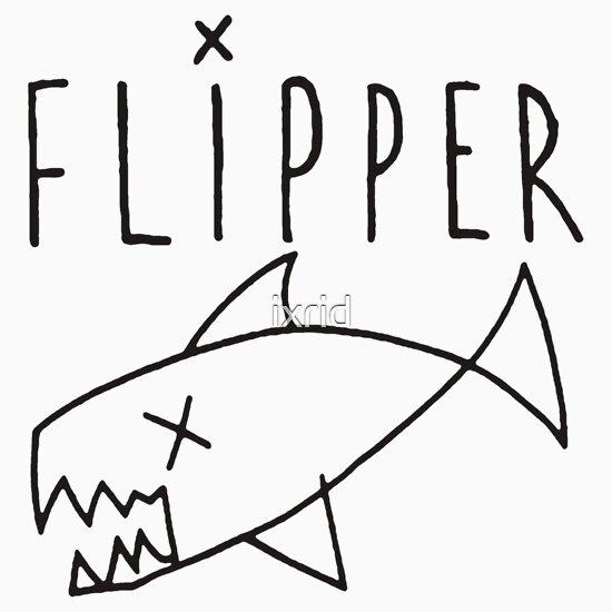 TShirtGifter presents: Flipper (Kurt Cobain)