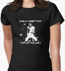 Eddie & The Hot Rods Women's Fitted T-Shirt