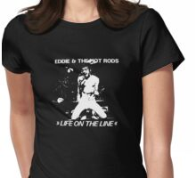 Eddie & The Hot Rods Womens Fitted T-Shirt