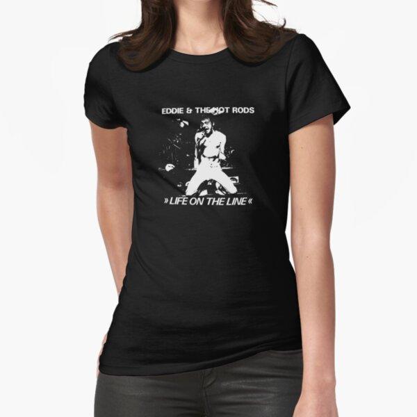 Eddie & die Hot Rods Tailliertes T-Shirt